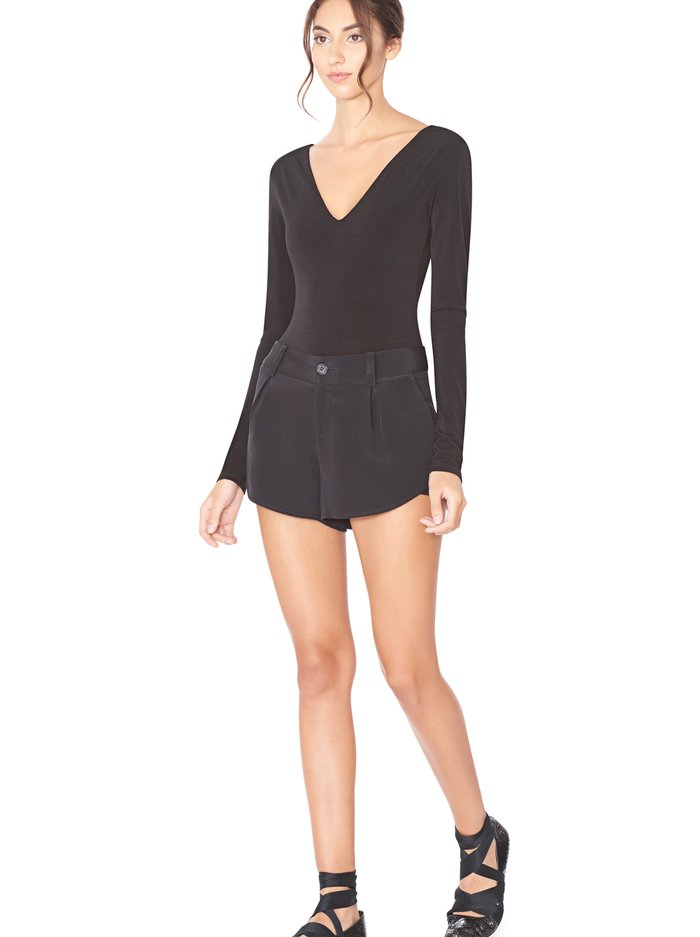 BUTTERFLY SHORTS - BLACK - Alice And Olivia