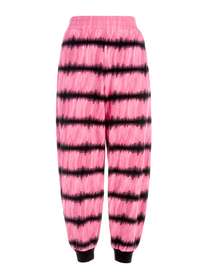 MALIBU TIE DYE JOGGER - WASHED TIE DYE PINK - Alice And Olivia