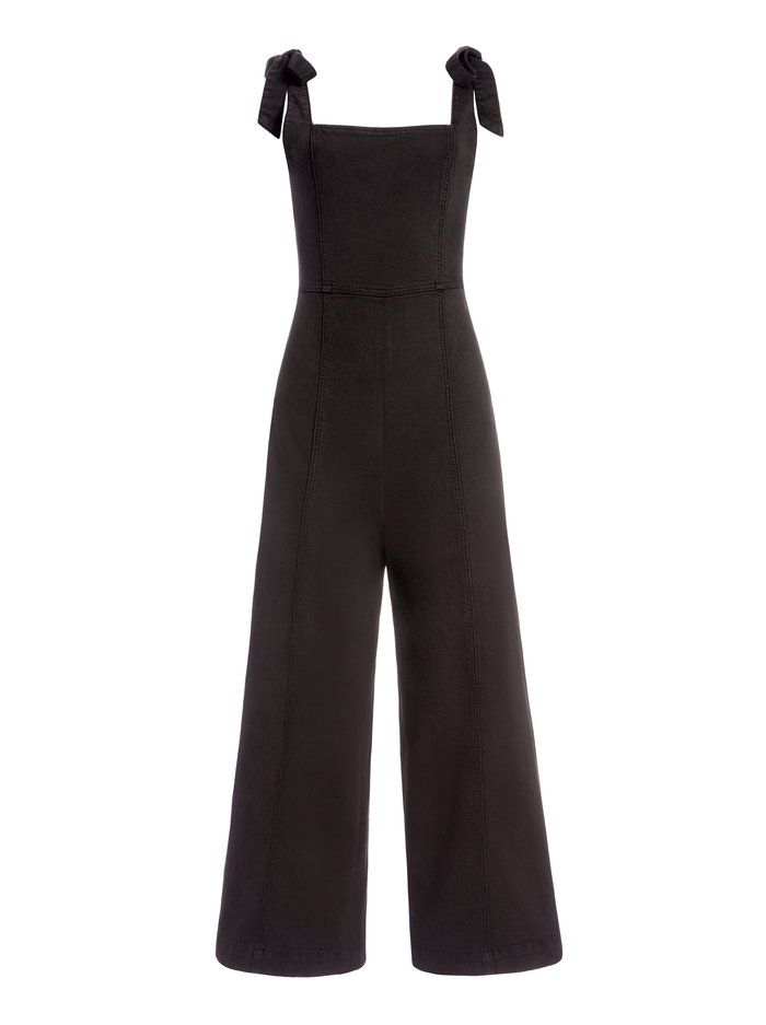 KINLEY TIE SHOULDER GAUCHO - NIGHT FEVER - Alice And Olivia
