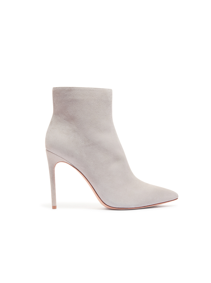 CELYN SUEDE BOOTIE - GREY - Alice And Olivia
