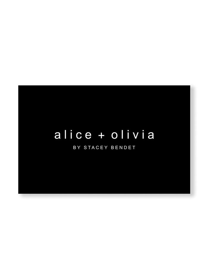 ALICE AND OLIVIA E-GIFT CARD -