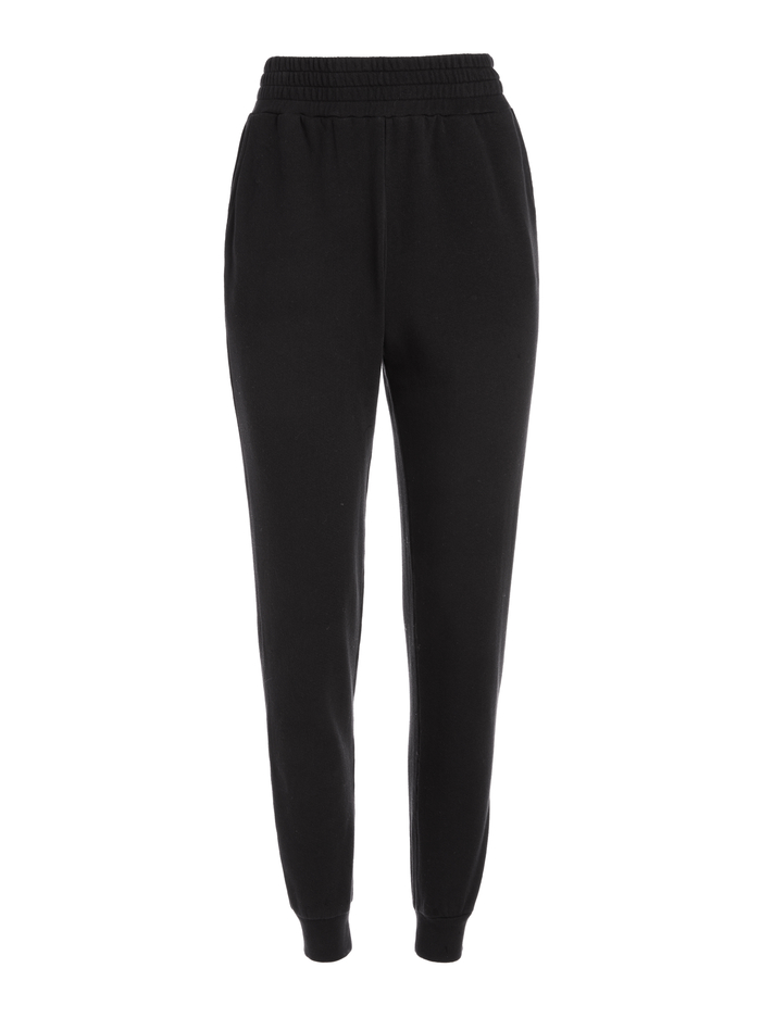 NYC SLIM JOGGER - BLACK - Alice And Olivia