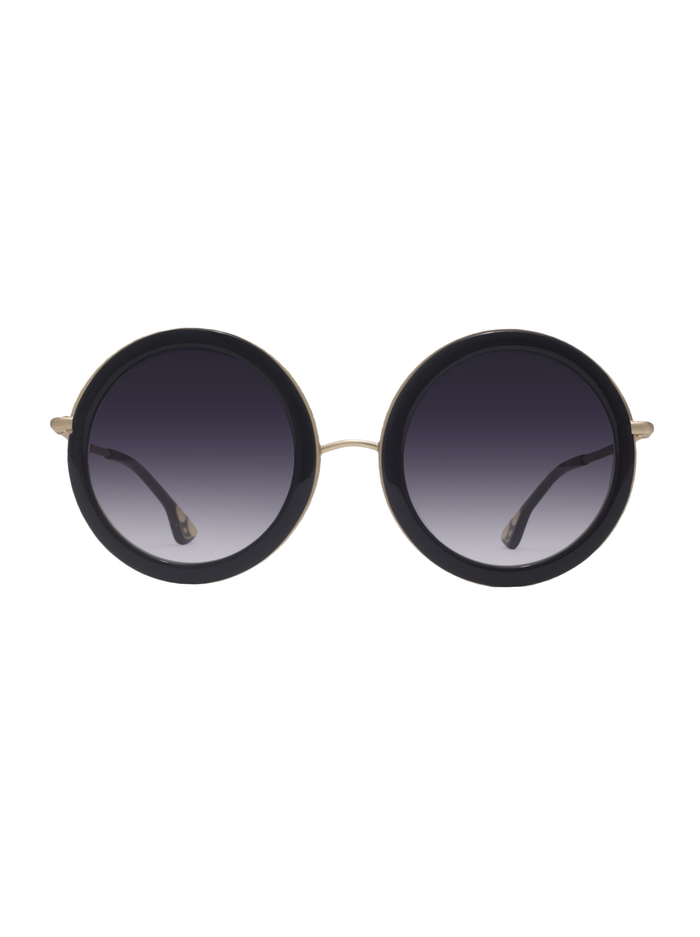 BEVERLY SUNGLASSES - BLACK - Alice And Olivia