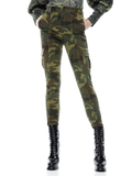 KEITH SLIM CARGO PANT - CAMO GIRL